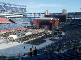 Gillette Stadium Section 238 Concert Seating Rateyourseats Com