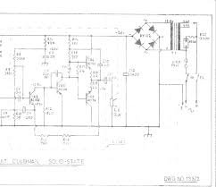 wem clubman ss schematic return to wem amplifier schematics page