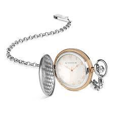 newbridge silverware two tone pocket watch