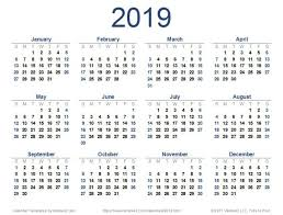2019 Full Year Calendar Weareeachother Coloring
