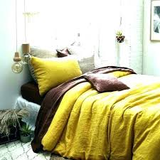 mustard yellow comforter bedding linen duvet cover bed sheets set from king sets e mustard duvet cover