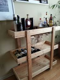 diy bar plans. 14 Inspiring DIY Bar Cart Designs And Makeovers For Wooden Plans Diy