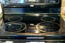 glass top stove scratches scratches on glass top stove scratched glass top range remove scratches glass