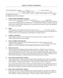 Lease Agreement For House House Rental Lease Agreement Template ...