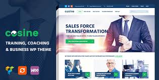 Wordpress Website Templates Impressive Download Cosine V484848 Training Coaching Business WordPress