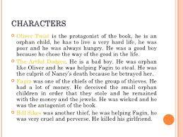 oliver twist inma ros characters <ul><li>oliver twist