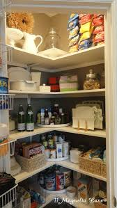 kitchen pantry shelving corner turn tables door with handle deep pantry shelves