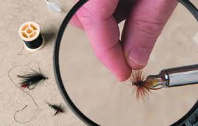 lights magnifiers for better fly tying