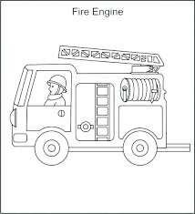 Semi Truck Coloring Pages Truck Coloring Pages Fire Station Coloring