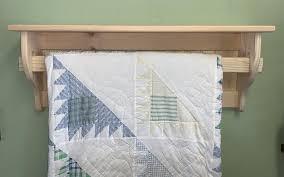 quilt rack wall hanger