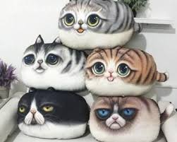 cat themed presents. Wonderful Presents 3D Cat Throw Pillows With Themed Presents T