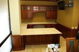custom desks for home office. Elegant Custom Desk Design Ideas With Cherry Home Office Finished Furniture Designs Desks For S