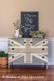 union jack furniture. Painted Furniture Union Jack Autumn Vignette, Chalk Paint, Diy,