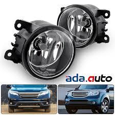 2012 Honda Pilot Fog Light Lens Replacement Details About For 2016 2017 Honda Pilot Glass Lens Bumper Driving Fog Lights W Switch Bulbs