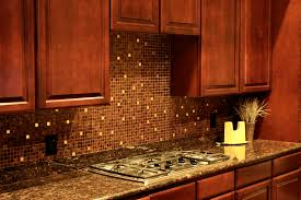 Image Of: Kitchen Tile Backsplashes Brown Color