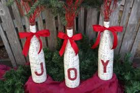 Christmas Bottles Mmmm Parecen Bandera Las Haría De Un Solo Color Wine Bottle Christmas Crafts