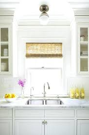 kitchen sink lighting ideas. Kitchen Sink Light Ceiling Over Transitional With Lighting Ideas . N