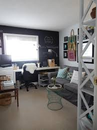 home office guest room. Office And Guest Room Reveal Just Decorate Home