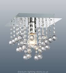 ceiling lights modern contemporary ceiling lights palazzo polished chrome square light