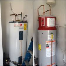 How To Install An Electric Hot Water Heater Ge Geospring Hybrid Heat Pump Hot Water Heater Installed