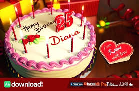 Happy Birthday Template Free Download Video After Effects Recreaco