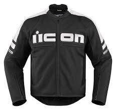 icon motorhead 2 leather motorcycle jacket black white s small