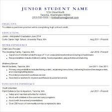 High School Resume For College Simple 60 Sample College Resume Templates Free Samples Examples Format