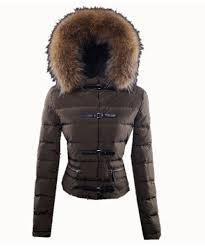 Moncler Crecerelle Down Jacket Coffee Womens Y2L3