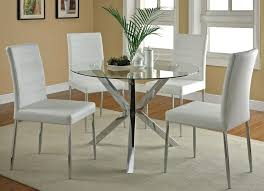 modern kitchen table and chairs. Amazing Small Round Kitchen Table And Chairs Wallpaper: Gorgeous Glass Modern