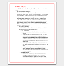 Chapter Outline Example Magdalene Project Org