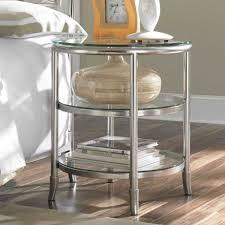 glass nightstand metal and glass nightstand metal nightstands