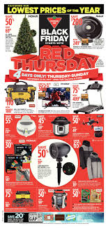 canadian tire weekly flyer 4 days only black friday starts with red thursday nov 23 26 redflagdeals com
