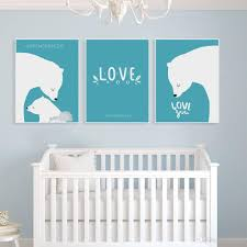 2018 kawaii polar bear family mother love a4 poster nordic kids baby room wall art print pictures home decor canvas painting no frame from lyq669  on baby room wall art painting with 2018 kawaii polar bear family mother love a4 poster nordic kids baby