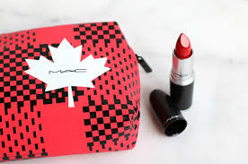 mac cosmetics proud to be canadian the perfect red lipstick for canada 150