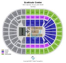 Enterprise Center Wwe Seating Chart Rare Scottrade Charts Lakeshake Seating Chart Golden One