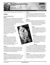touching spirit bear essay touching spirit bear essay touchingspiritbear part1