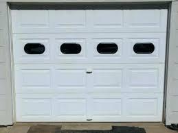 fake garage door windows hinges window how to install