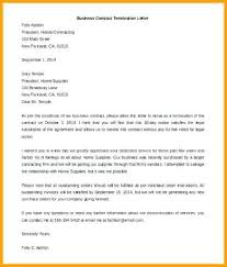 free 5 contractor termination letters