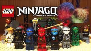 Lego NINJAGO Hands Of Time Display and Custom Minifigures Showcase Season 7  Ninjago 2017 - YouTube