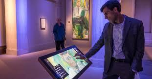 digital exhibits bring interactive exploration to national portrait gallery