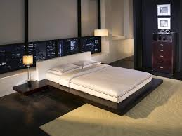 Modern low bed Size Bed Furniture Wen Wht Modern Low Tokyo Platform Nightstands Japanese Mid Century Frame Contemporary White Frames And Headboards Furniture New Bedroom Sleeping Parelme Furniture Wen Wht Modern Low Tokyo Platform Nightstands Japanese