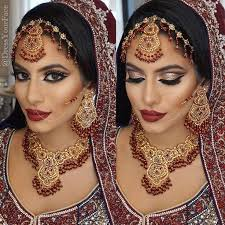 ensure the redden is added marginally remembering to supplement the general shading profile decided for the ideal south indian bridal makeup look