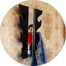 Wave Coat Rack Gorgeous L'Emile Et Son Wave Coat Rack Mirror JME Brands All