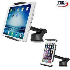 Giá Đỡ iPad, Máy Tính Bảng Trên Xe Hơi Hít Chân Không Cao Cấp - iPad Holder
