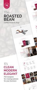 Roasted Bean - Creative & Coffee Shop Psd Template By Themeton ...