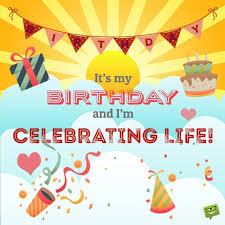 My Birthday Quotes For Myself Mesmerizing Happy Birthday To Me Birthday Wishes For Myself