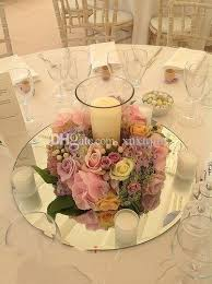 30cm diameter round square acrylic mirrors for wedding table centerpieces or wall mirror decor themed party decorations themed party supplies from xuxujun
