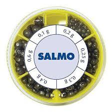 <b>Грузила SALMO дробинка PL</b> 6 секц. станд. 070г набор — купить ...