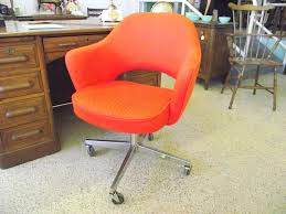 vintage office furniture for sale. exellent vintage authentic saarinen knoll retro orange executive office task chair with  label nh vintage on office furniture for sale a