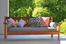 recycled timber outdoor daybeds